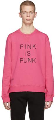Valentino Pink Pink is Punk Sweatshirt
