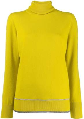 Fabiana Filippi roll-neck fitted sweater