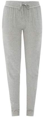 Skin - Slim Fit Cotton Pyjama Trousers - Womens - Grey