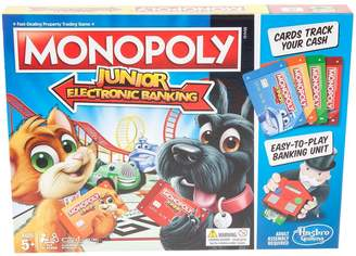 Hasbro Monopoly Junior Electronic Banking From Gaming