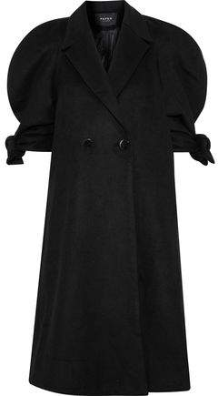 Paper London Double-Breasted Wool-Blend Coat