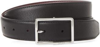 DKNY Faux Leather Reversible Belt