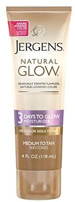 Jergens Natural Glow 3 Days to Glow Moisturizer for Body