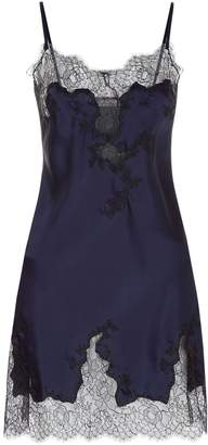Marjolaine Lace Trim Slip Dress
