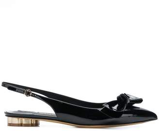 Salvatore Ferragamo Bow ballerina shoes