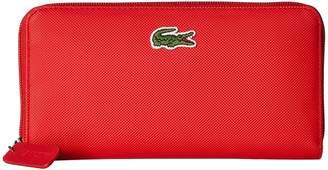 Lacoste L.12.12 Concept Large Zip Wallet Wallet Handbags
