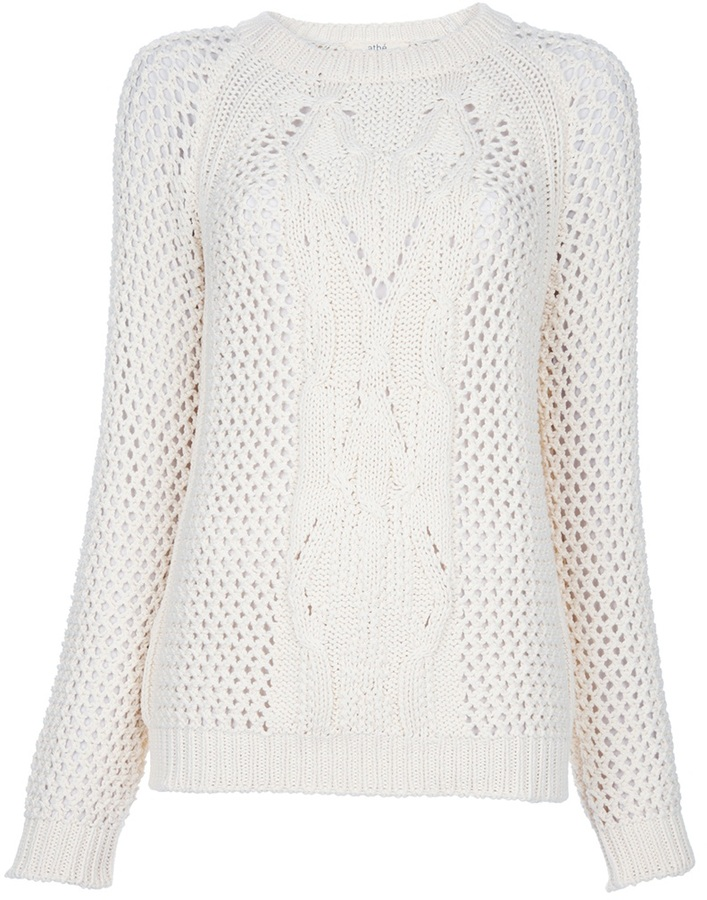 Vanessa Bruno Athé Open-knit jumper