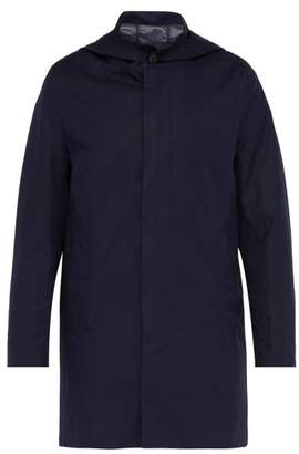 MACKINTOSH Storm System Cotton Canvas Coat - Mens - Navy