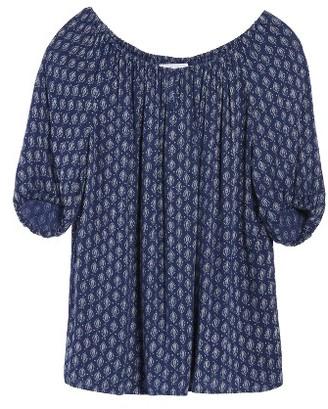 Women's Velvet By Graham & Spencer Print Gauze Peasant Top $119 thestylecure.com