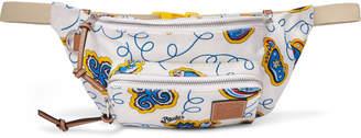 Loewe + Paula's Ibiza Logo-Appliquéd Printed Canvas Belt Bag
