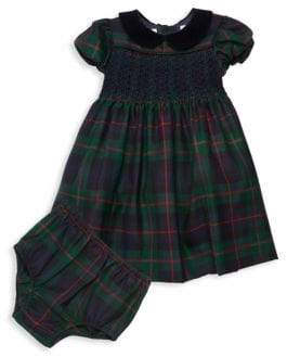 Ralph Lauren Baby Girl's Holiday Tartan Dress