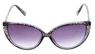 Jason Wu Lace Cat-Eye Sunglasses