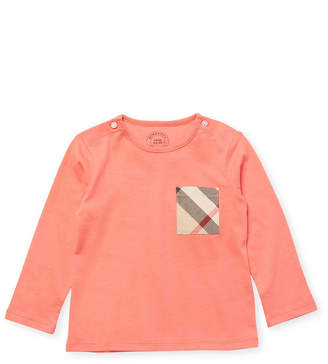 Burberry Plaid Pocket T-Shirt