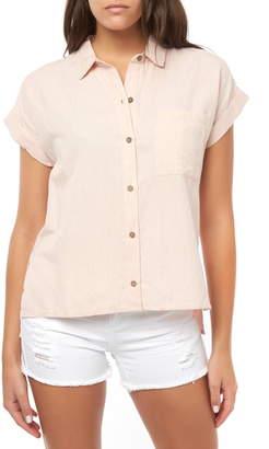 O'Neill Neena Cotton & Linen Shirt