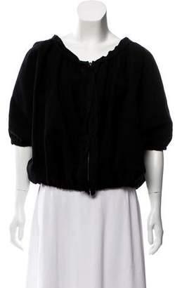 Lanvin Wool Puffed Jacket