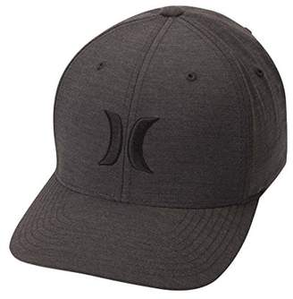 Hurley Men's Black Textures Baseball Cap