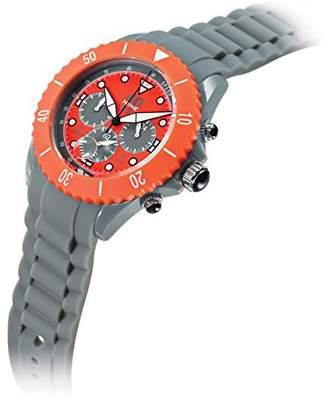 40Nine Men's 'Chrono Sport' Quartz Plastic and Silicone Casual Watch