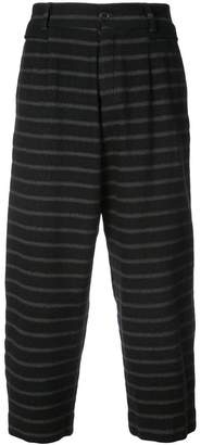 Damir Doma striped drop crotch trousers