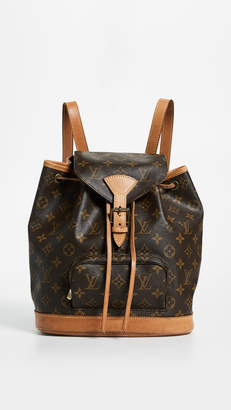 Louis Vuitton What Goes Around Comes Around Monogram Montsouris Backpack