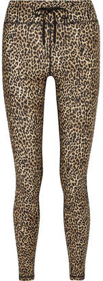 The Upside Leo Leopard-print Stretch Leggings - Leopard print