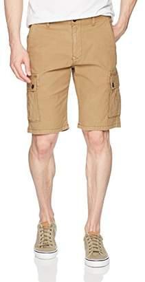 Lucky Brand Men's Stretch Sateen Cargo Short