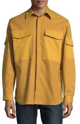 Carlos Campos Woven Cargo Cotton Jacket