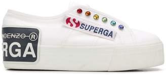 Marco De Vincenzo Sneakers Superga® x flat sneakers