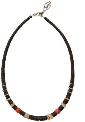 Saint Laurent Retro beach beaded necklace
