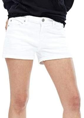 Asha Solid Cotton Shorts