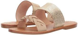 Soludos Metallic Braided Slide Sandal Women's Sandals