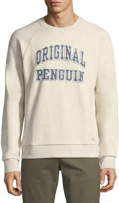 Original Penguin Printed Logo Crewneck Sweater