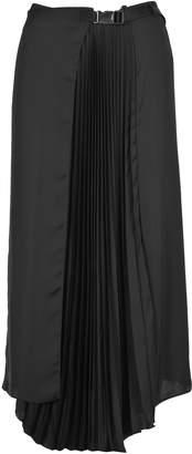 Prada Skirt Pleates Buckle
