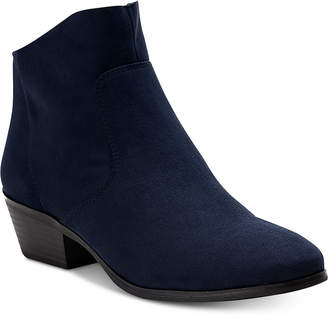 Style&Co. Style & Co Winie Ankle Booties, Created for Macy's