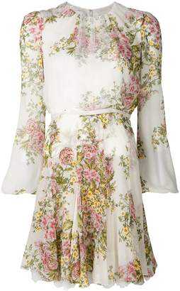 Giambattista Valli chiffon floral dress