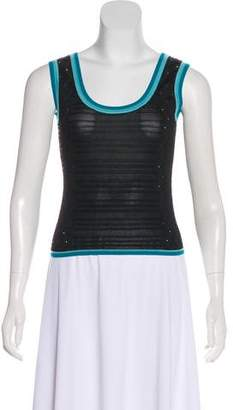 Christian Lacroix Knit Sleeveless Top