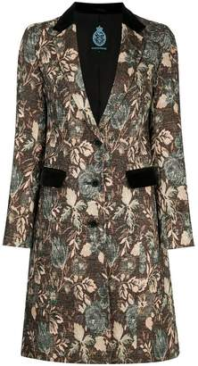 GUILD PRIME floral swing coat