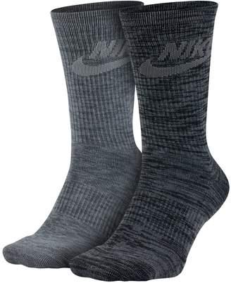 Nike Men's 2-pack Knit-In Crew Socks