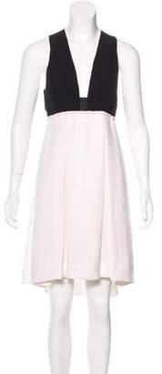 A.L.C. Silk Pleated Dress
