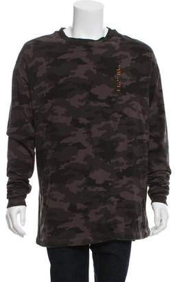 Unravel Project To Create Camouflage Sweatshirt w/ Tags