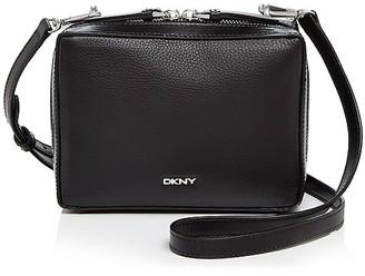 DKNY Soft Pebble Mini Box Shoulder Bag $198 thestylecure.com