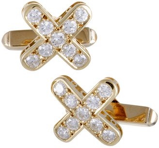 Mikimoto 18K 0.51 Ct. Tw. Diamond Cufflinks