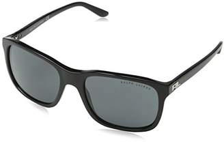 Ralph Lauren Men's 0Rl8142 500187 56 Sunglasses