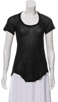 Etoile Isabel Marant Cashmere-Blend Short Sleeve T-Shirt