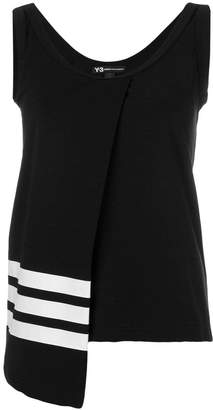 Y-3 asymmetric panel tank top