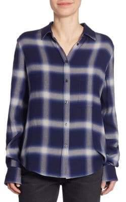 Vince Utility Button-Down Shirt