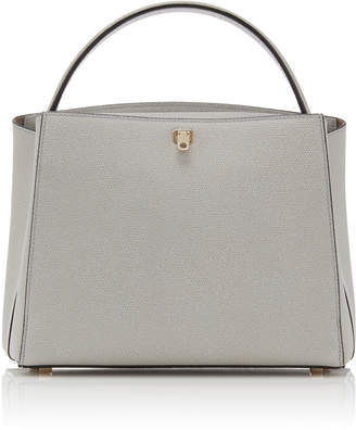 Valextra Brera Medium Leather Shoulder Bag