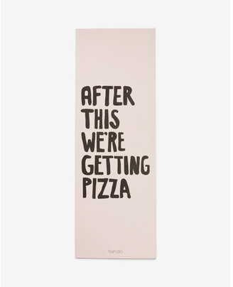 Express ban.do after this we're getting pizza exercise mat $32 thestylecure.com