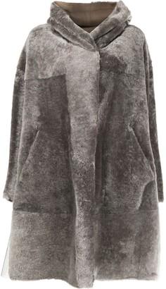 Sylvie Schimmel oversized shearling coat