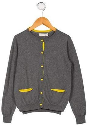 Stella McCartney Girls' Button-Up Cardigan Sweater