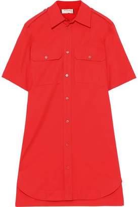 Marni Cotton-poplin Mini Shirt Dress